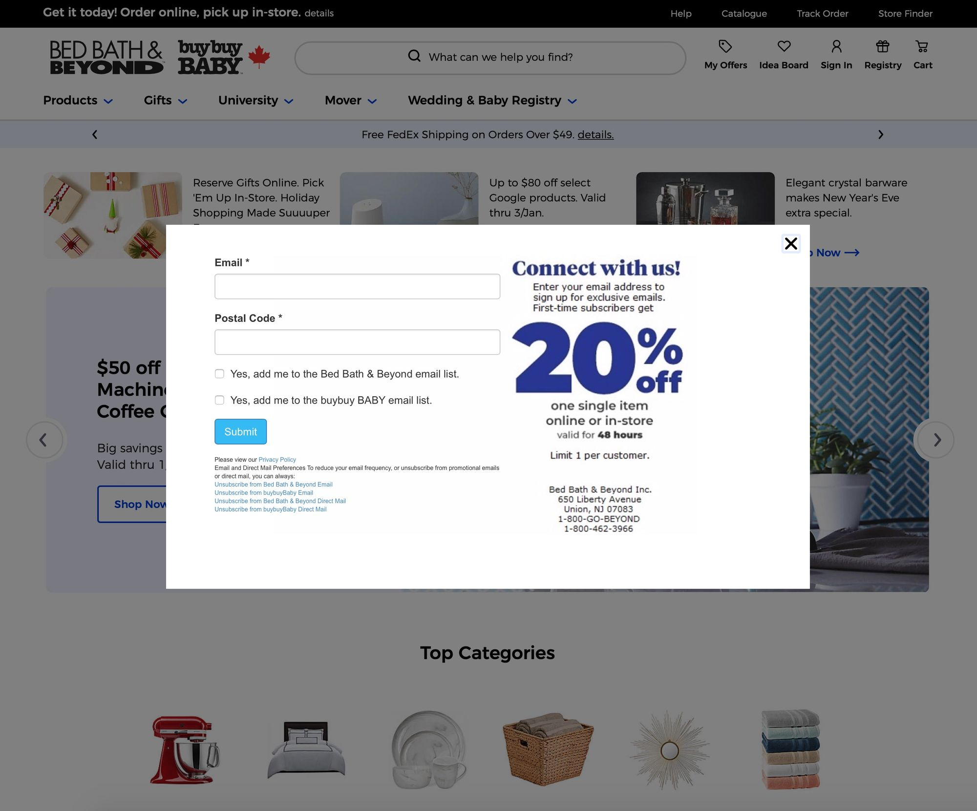 Off Registry Wedding Gifts: Marketing Automation With Bed Bath & Beyond (Case Study